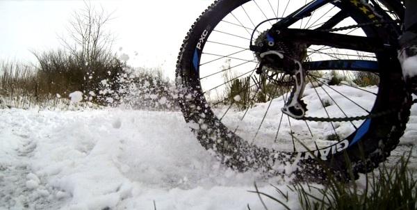 Mountain Bike Snow