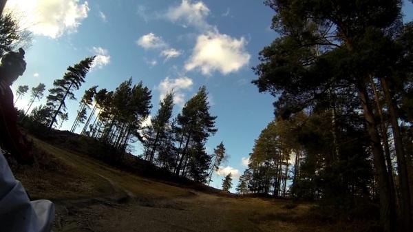 Swinley blue sky