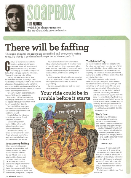 Faffing - MBR May 2013