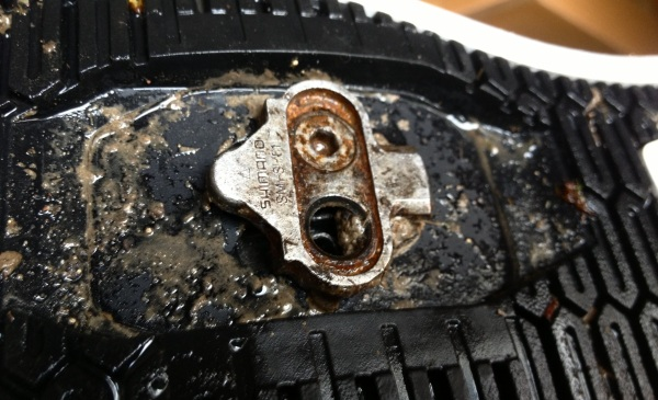 Shimano SPD Screw Missing