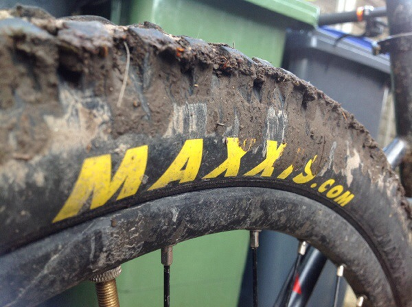 muddy Maxxis. HighRoller