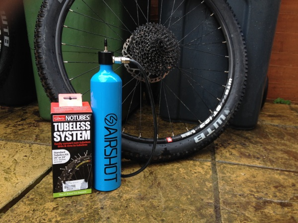 STANS No Tubes / Airshot