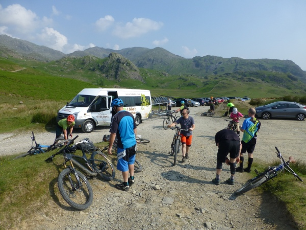 Walna Scar Road Shuttle Drop Off