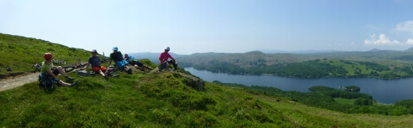 Above Coniston Water
