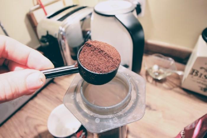 Mountain bikers love coffee made with Aeropress